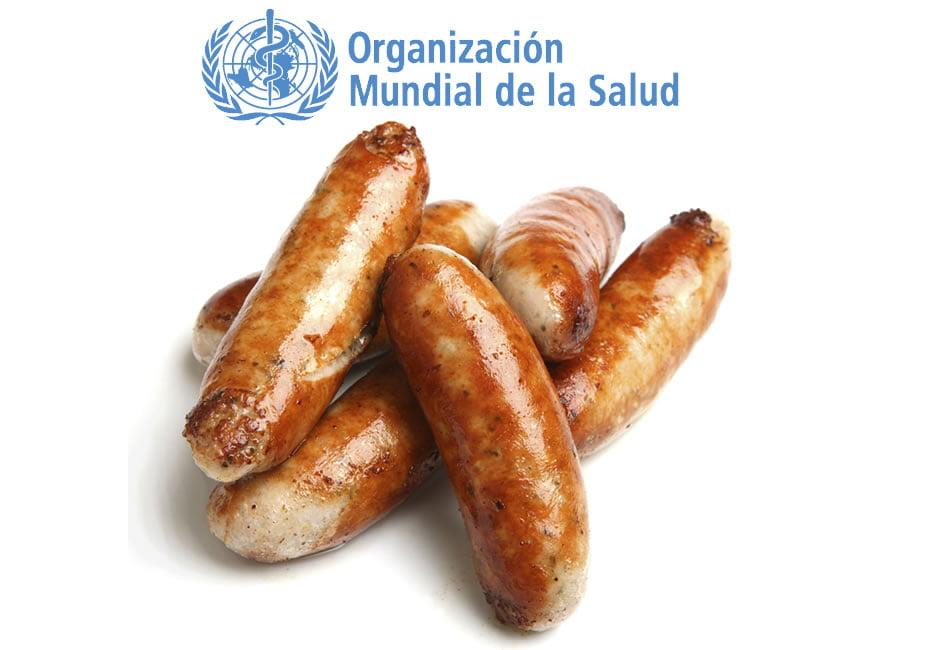 oms - carne procesada