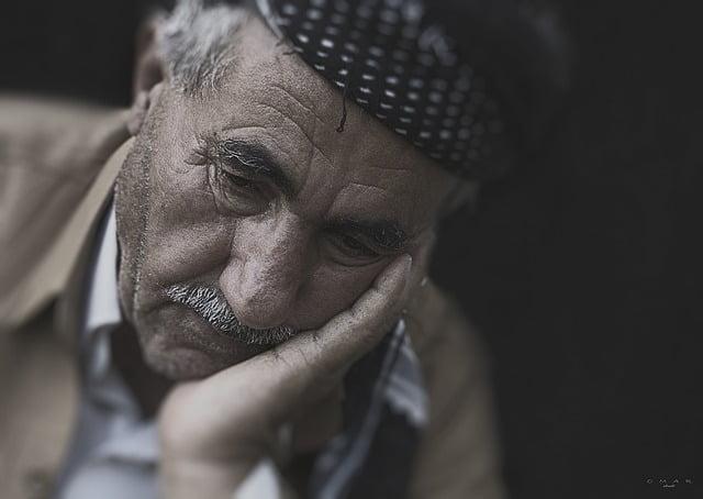 ancianos con depresión